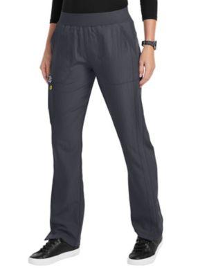 WonderWink Four-Stretch Flexi Elastic Waist Cargo Scrub Pants