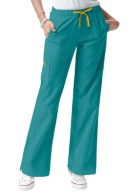 WonderWink Four-Stretch Cargo Scrub Pants