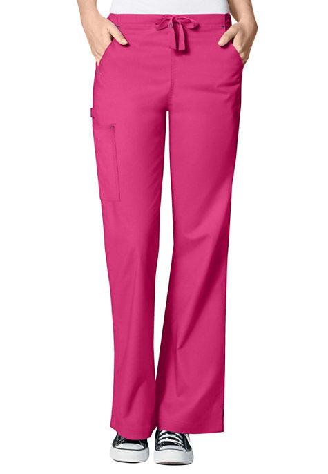 234c9620392 WonderFlex Grace Flare Leg Cargo Scrub Pants | Uniform City