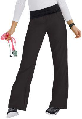 WonderWink Four-Stretch Knit Waist Yoga Scrub Pants