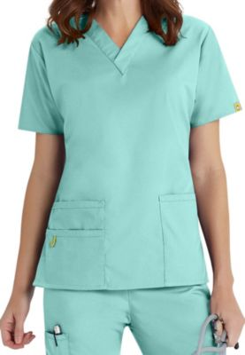 WonderWink Origins Bravo V-Neck Scrub Top
