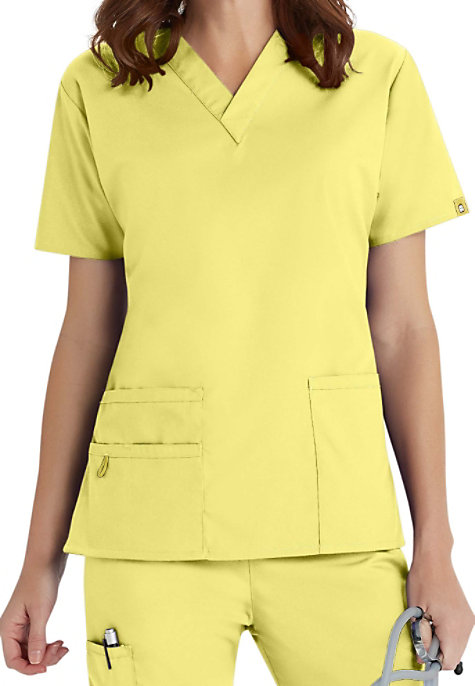 WonderWink Origins Bravo V-neck Scrub Tops | Scrubs & Beyond