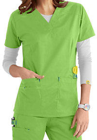 WonderFlex Verity Stretch V-neck Scrub Tops