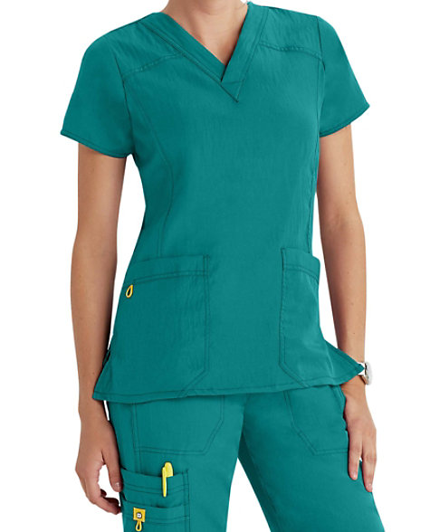 Wonderwink Four Stretch V Neck Scrub Tops Scrubs Amp Beyond