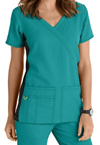 WonderWink Four-Stretch Knit Panel Scrub Tops