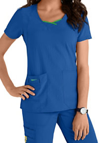 WonderWink Four-Stretch Curve-centric Fashion Scrub Tops