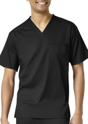 WonderWink Pro Men's V-Neck Scrub Top