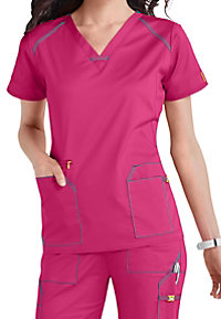 WonderWink 7 Flex V-Neck Scrub Tops