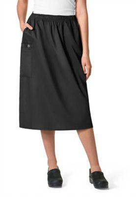 Elastic Waist 2 Pocket Skirt