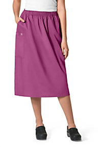 WonderWork Pull On Cargo Scrub Skirts