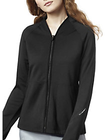 4 Pocket Fleece Warm Up Jacket