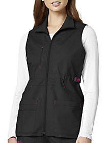 7 Pocket Utility Zip Front Vest