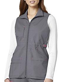 7 Pocket Utility Zip Front Vest