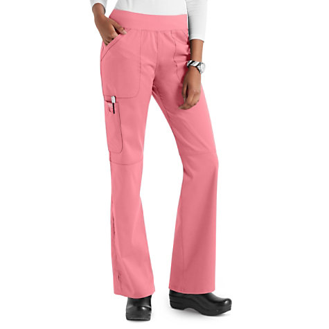 c5a03e12734 Cherokee Workwear Revolution Knit Waist Cargo Scrub Pants | Uniform City