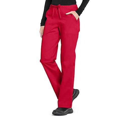 364a1c8e861 Cherokee Workwear Professionals Straight Leg Drawstring Pants ...