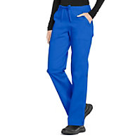 Cherokee Workwear Professionals Straight Leg Drawstring Pants