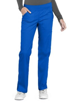 Cherokee Workwear Professionals Straight Leg Pull-on Cargo Scrub Pants