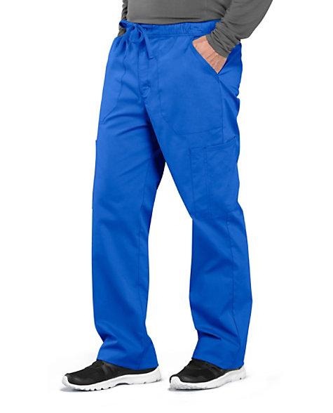 73c74058f16 Cherokee Workwear Professionals Men's Tapered Leg Drawstring Cargo Scrub  Pants | Scrubs & Beyond
