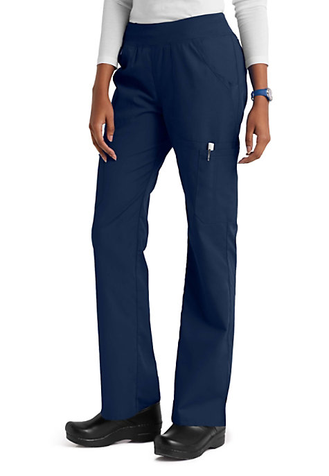466b010861d03 Cherokee Workwear Rib Knit Waistband Cargo Scrub Pants | Scrubs & Beyond