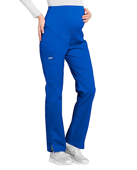 fb68cb465b1c8 Cherokee Workwear Professionals Maternity Straight Leg Scrub Pants | Scrubs  & Beyond