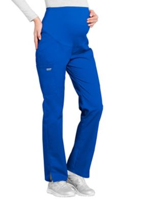 Cherokee Workwear Professionals Maternity Straight Leg Scrub Pants