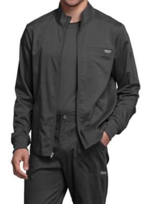 Full Zip Jacket with Chest Pocket