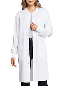 Snap Front Lab Coat with Certainty
