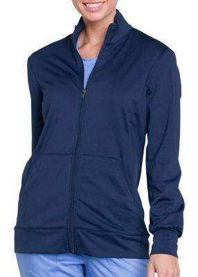 Cherokee Workwear Revolution Unisex Zip Front Warm Up Scrub Jacket