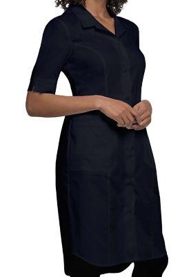 Button Front 2 Pocket Dress