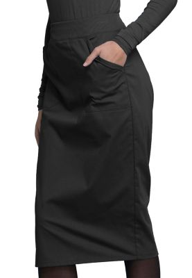 2 Pocket Knit Waist Skirt