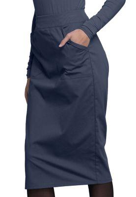 Cherokee Workwear Professionals Women's Knit Waist Skirt