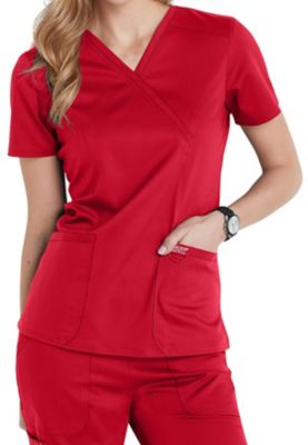 Cherokee Workwear Revolution Crossover Scrub Tops