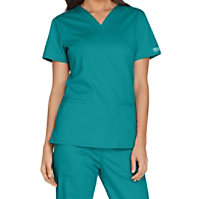 Cherokee Workwear Core Stretch V-neck Tops