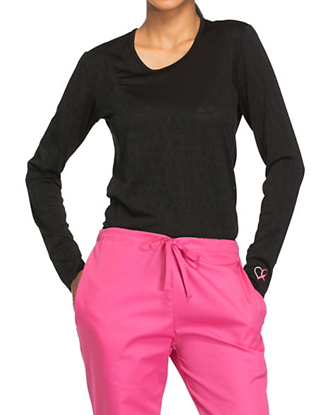 Cherokee Workwear Core Stretch Breast Cancer Awareness