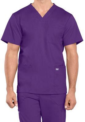 Cherokee Workwear Professionals Men's 4 Pockets V-neck Scrubs Tops