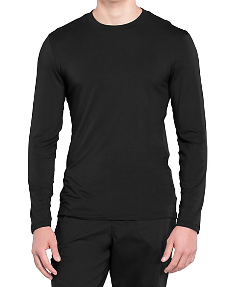 c629c60dac5 Cherokee Workwear Professionals Men's Long Sleeve Knit Underscrubs | Scrubs  & Beyond