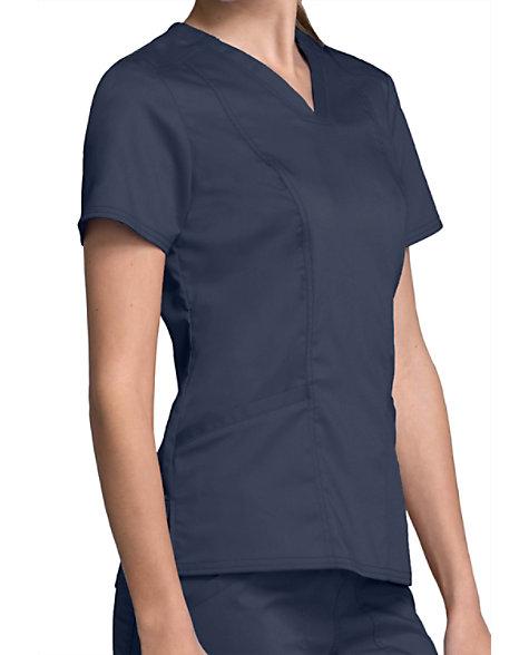 da3933cbe5d Cherokee Workwear Revolution Women's V-neck Scrub Tops | Scrubs & Beyond