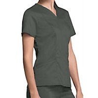 Cherokee Workwear Revolution Women's V-neck Tops
