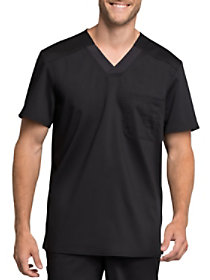 Chest Pocket V-Neck Top with Certainty