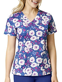 Floral Fancies Print Top