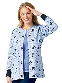 Sailor Owl Print Jacket