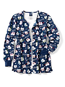 Super Tooth Print Jacket