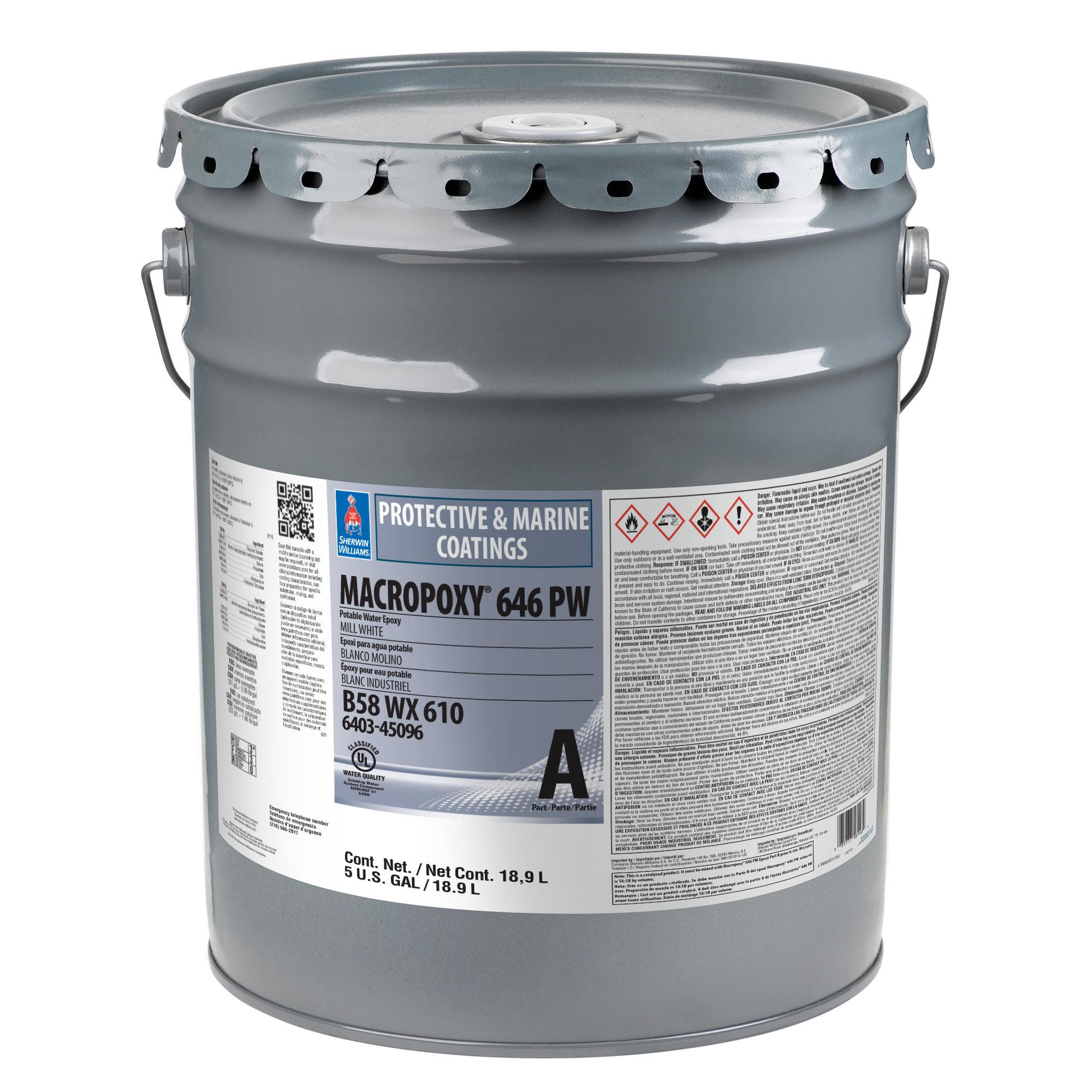MACROPOXY 646 PW Potable Water Epoxy (Part A)