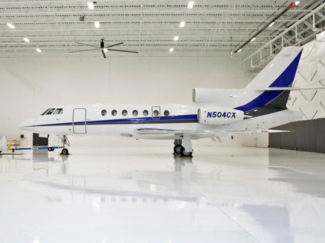 Hangar flooring system