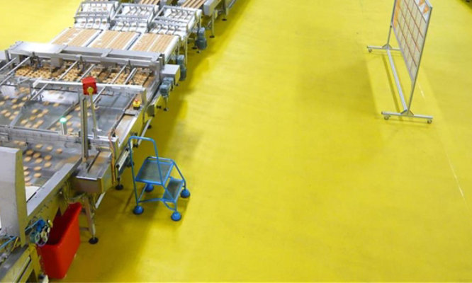 Biscuit Factory with FasTop TG69 Flooring