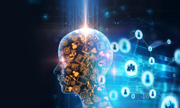 Brain Absorbing New Information