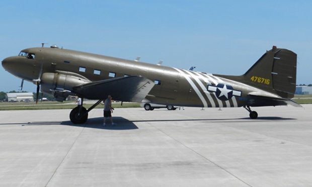 AC-47 Gunship painted with Sherwin-Williams coatings