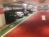 parking garage floor