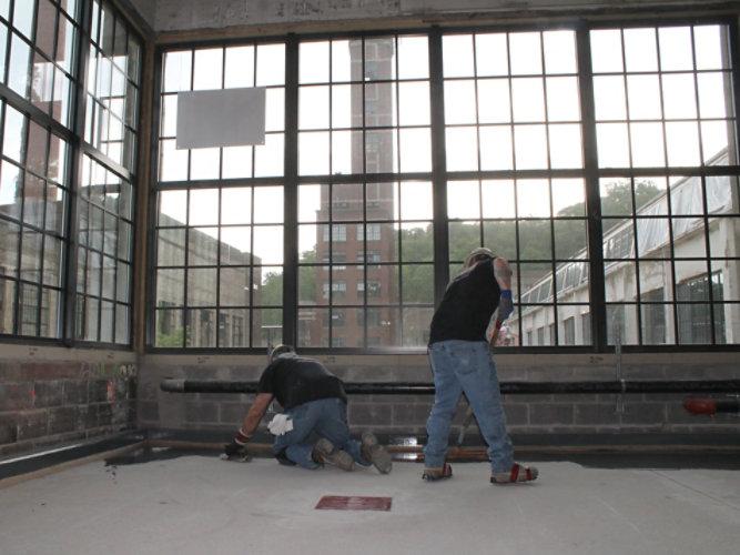 Brewery Resinous Polyurethane Flooring Install