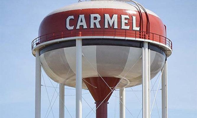 Carmel Indiana Water Tank